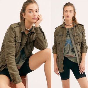 Free People | Not Your Brother's Surplus Jacket S
